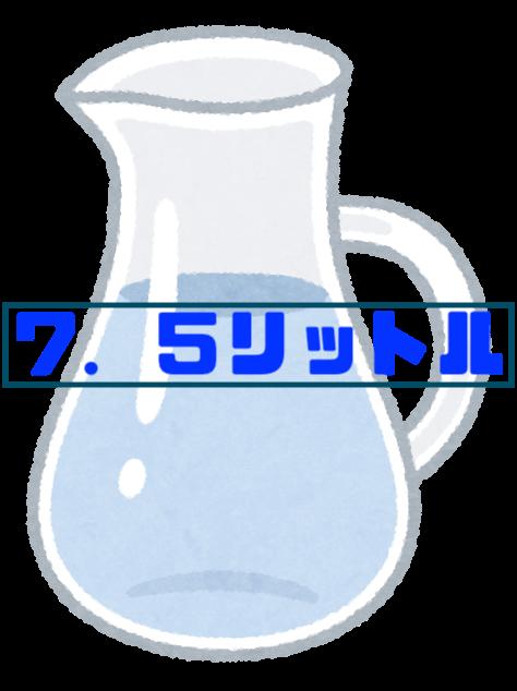 水差し7.5L